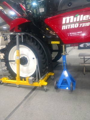 Hydralic Wheel Dolly And Jack